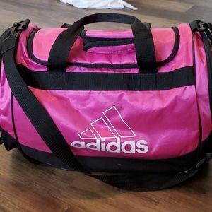 Adidas Pink Duffle Bag